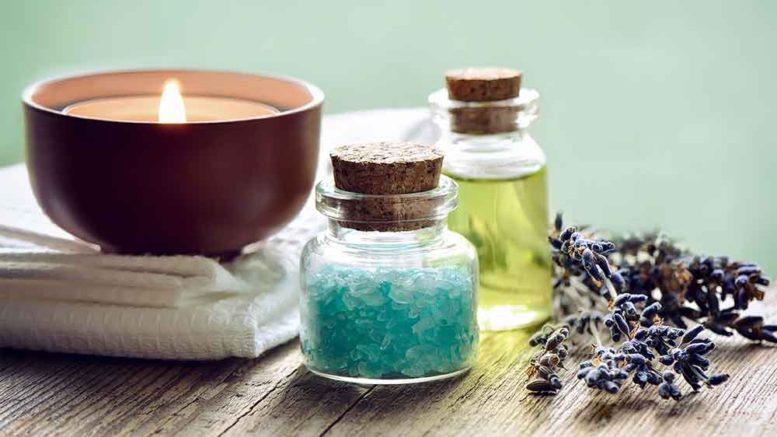 A aromaterapia em cuidados domiciliares